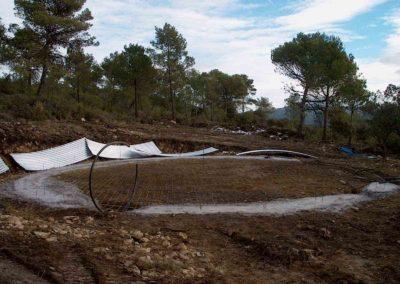 Construcción de depósito metálico para prevención de incendios 4