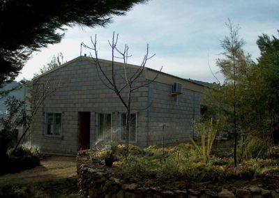 Construcción de nave para Vivero forestal Camp Mirra