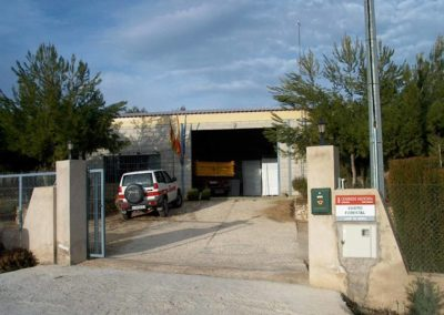 Construcción de nave para Vivero forestal Camp Mirra b