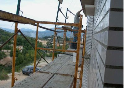 Construccion chalet unifamiliar en Urbanización Gormaig Cocentaina