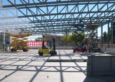 Cubrición pista polideportivo Muro de Alcoy