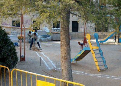 Mejoras en parque infantil Alcoy