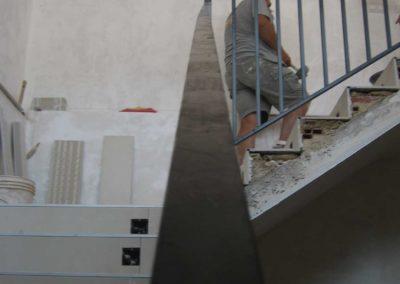 formacion escalera albañileria edificio asociacion vecinos batoy alcoi