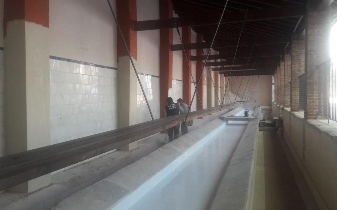 Restauración del Lavadero Pla de la Font en Cocentaina