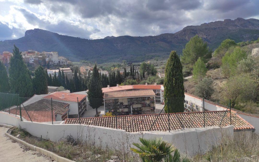 Mejoras en el cementerio municipal de Castell de Castells